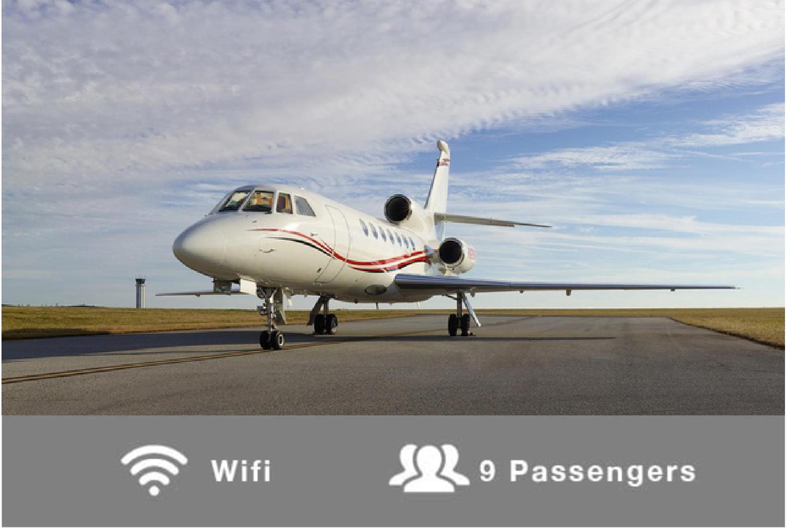 N299PR – 2000 Falcon 50EX